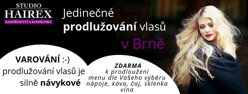 Prodlužování vlasů v Brně
